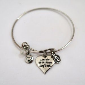 BRIGHTON Love You To The Moon bangle bracelet